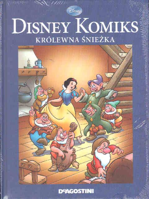 478b86887c1da0 KRÓLEWNA ŚNIEŻKA I SIEDMIU KRASNOLUDKÓW Z cyklu Walt Disney ...
